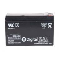 Аккумуляторная батарея X-Digital SPb 12-7 (SW1270)