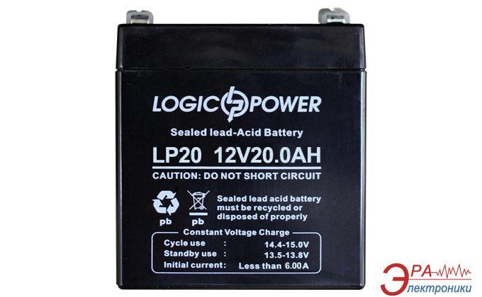 Аккумуляторная батарея LogicPower 12V 20AH