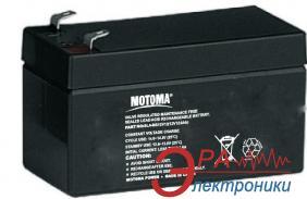 Аккумуляторная батарея Motoma 1.2A 12V