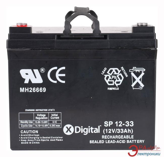 Аккумуляторная батарея X-Digital SP 12-33
