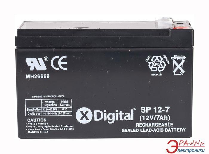 Аккумуляторная батарея X-Digital SP 12-7