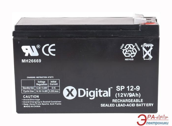 Аккумуляторная батарея X-Digital SP 12-9