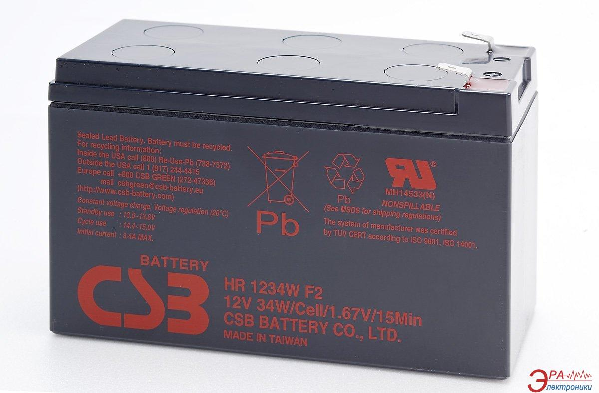 Аккумуляторная батарея CSB 12В 9Ач (HR1234W)