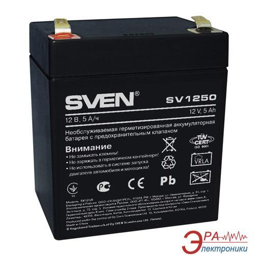 Аккумуляторная батарея SVEN SV1250