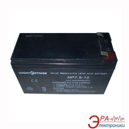 Аккумуляторная батарея LogicPower LP12-7.5AH