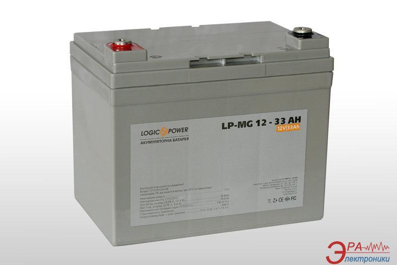 Аккумуляторная батарея LogicPower MG 12В 33Ач
