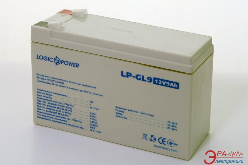Аккумуляторная батарея LogicPower GL 12В 9Ач