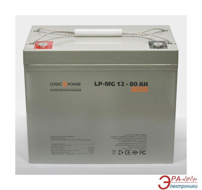 Аккумуляторная батарея LogicPower MGL 12В 80 Ач