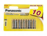 ��������� Panasonic ALKALINE POWER AAA BLI 10 (LR03REB/10BW)