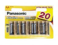 ��������� Panasonic ALKALINE POWER AA BLI 20 (LR6REB/20BW)