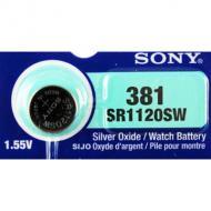 Батарейка Sony 391/381 (SR1120SWN-PB)