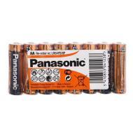 Батарейка Panasonic ALKALINE POWER AA Shrink 8 (LR6REB/8P)