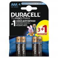 Батарейка Duracell Turbo Max AAA/LR03 BL (81367902)