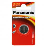 Купить Батарейка Panasonic CR 2012 BLI 1 LITHIUM (CR-2012EL/1B)