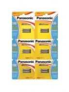 Батарейка Panasonic ALKALINE POWER AAA BLI 12 (2х6) (LR03REB/2B12)