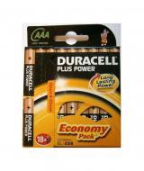 Батарейка Duracell LR03 MN2400 BLI 18 (81422470)