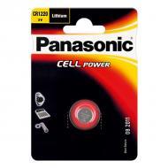 Батарейка Panasonic CR 1220 BLI 1 LITHIUM (CR-1220EL/1B)