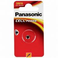 Батарейка Panasonic SR 1616 BLI 1 (SR-616EL/1B)