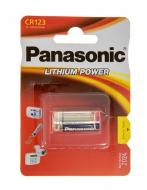 ��������� Panasonic CR 123 BLI 1 LITHIUM (CR-123AL/1BP)