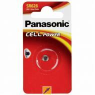 Батарейка Panasonic SR 626 BLI 1 (SR-626EL/1B)