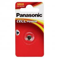 Батарейка Panasonic SR 920 BLI 1 (SR-920EL/1B)