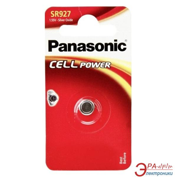 Батарейка Panasonic SR 927 BLI 1 (SR-927EL/1B)