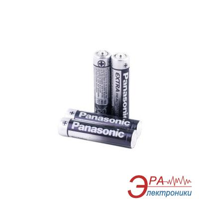 Батарейка Panasonic GENERAL PURPOSE R3 TRAY 4 ZINK-CARBON (R03UE/4PR)