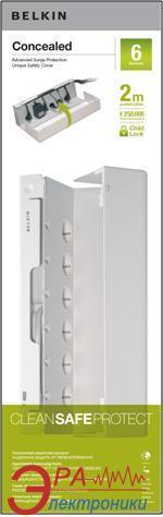 Сетевой фильтр Belkin Concealed (BZ106130CC2M)