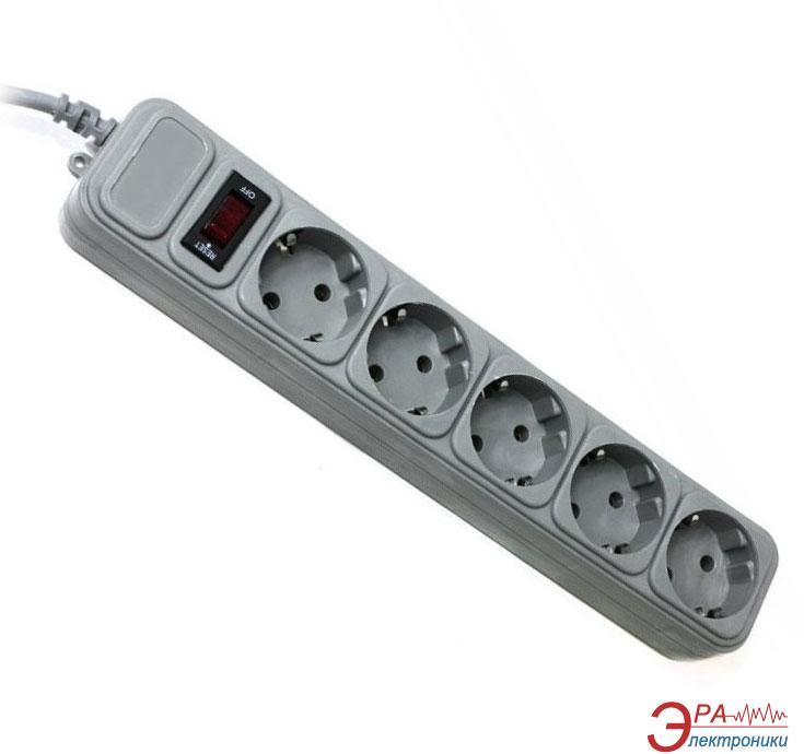 Сетевой фильтр Gembird 3m 5 розеток (SPG5-G-10G)