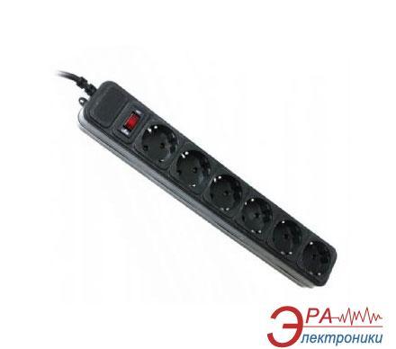 Сетевой фильтр Gembird 4,5m 6 розеток Black (SPG6-G-15B)