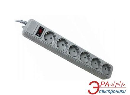 Сетевой фильтр Gembird 1,8m Gray 6 розеток (SP6-G-6G)