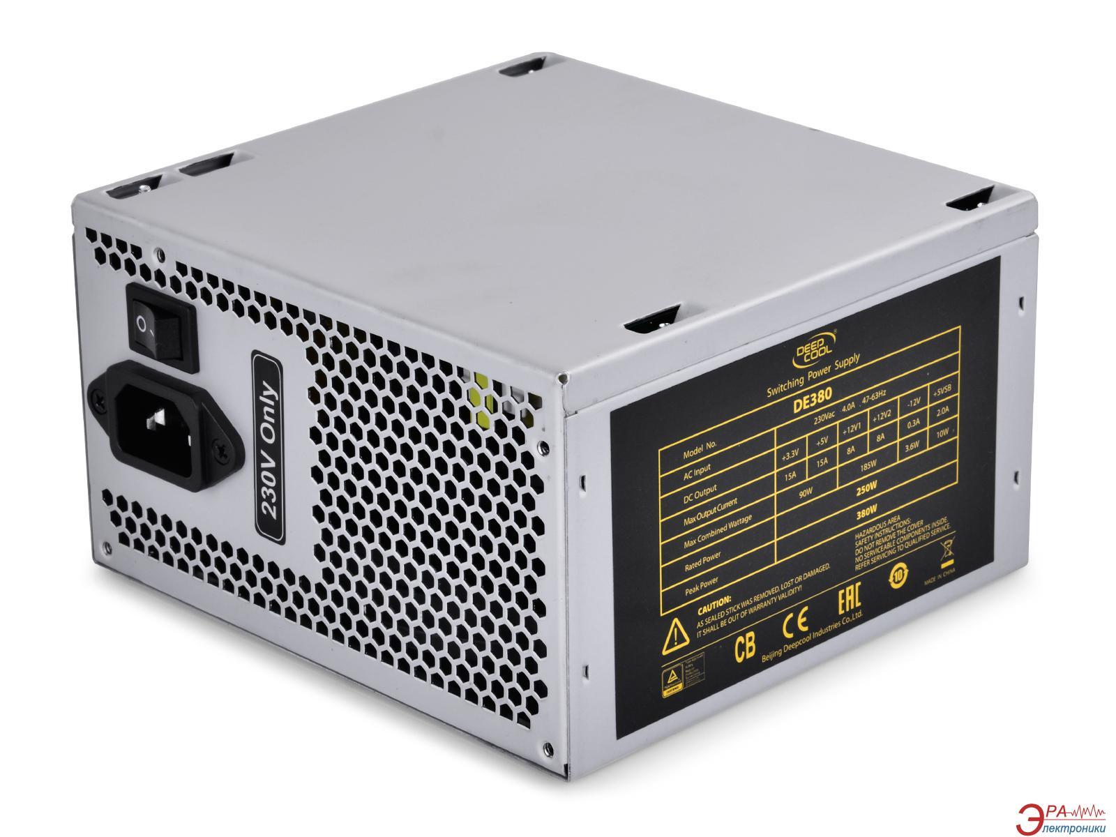 Блок питания Deepcool 380W (DE380)