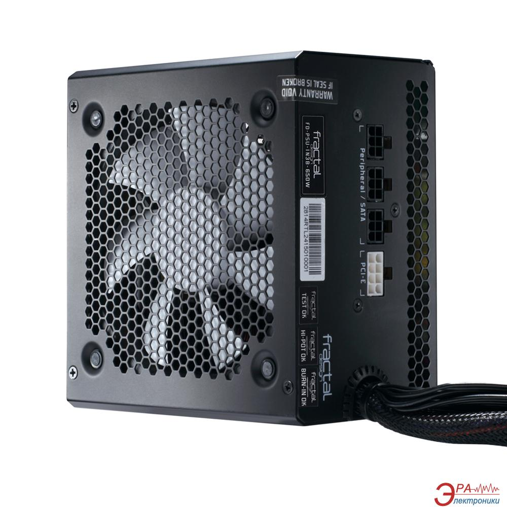 Блок питания Fractal Design Integra M 650W (FD-PSU-IN3B-650W-EU)