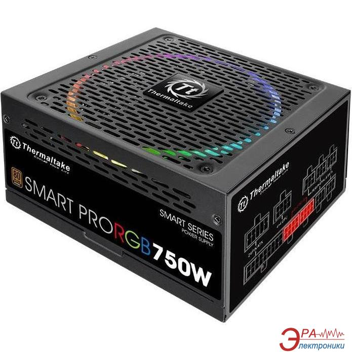 Блок питания Thermaltake Smart Pro RGB 750W (PS-SPR-0750FPCBEU-R)