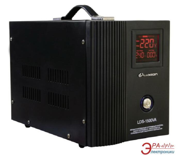 Стабилизатор LUXEON LDS-1500 SERVO Black