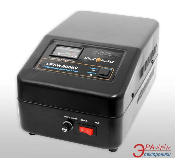 Стабилизатор LogicPower LPT-W-800RV Black