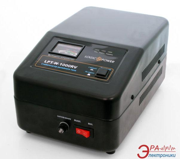 Стабилизатор LogicPower LPT-W-1000RV Black