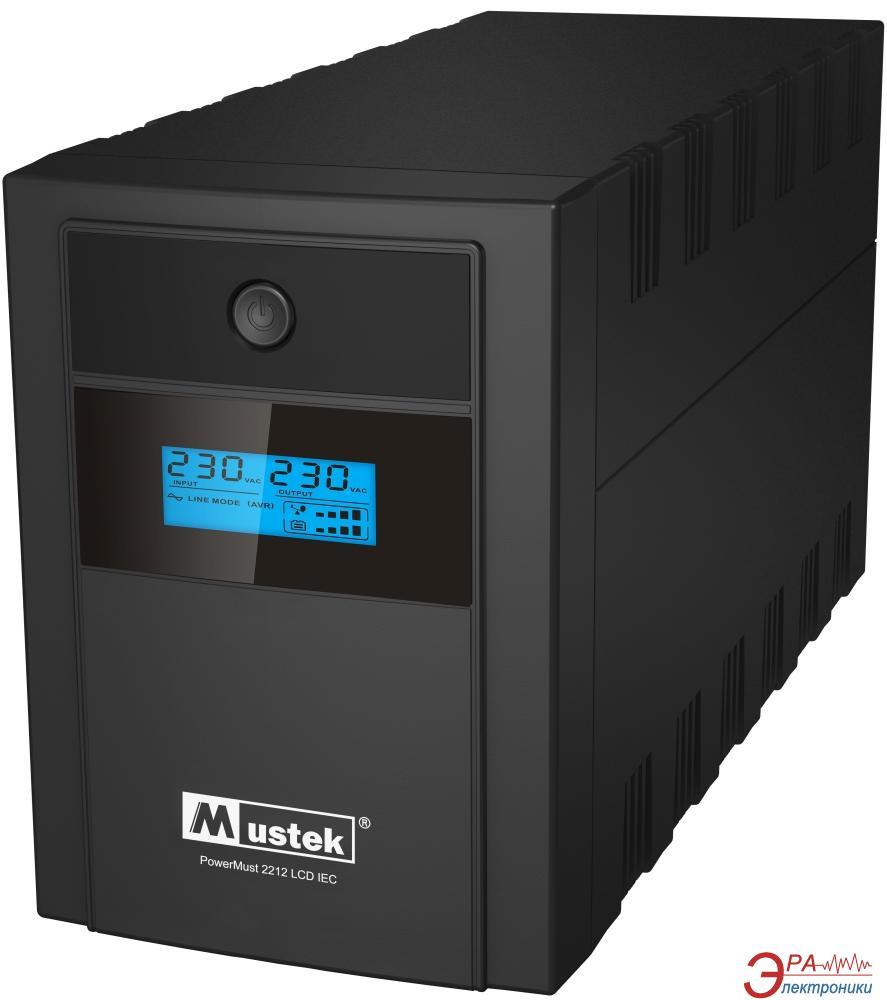 ИБП Mustek PowerMust 2212 LCD (98-LIC-C2212)