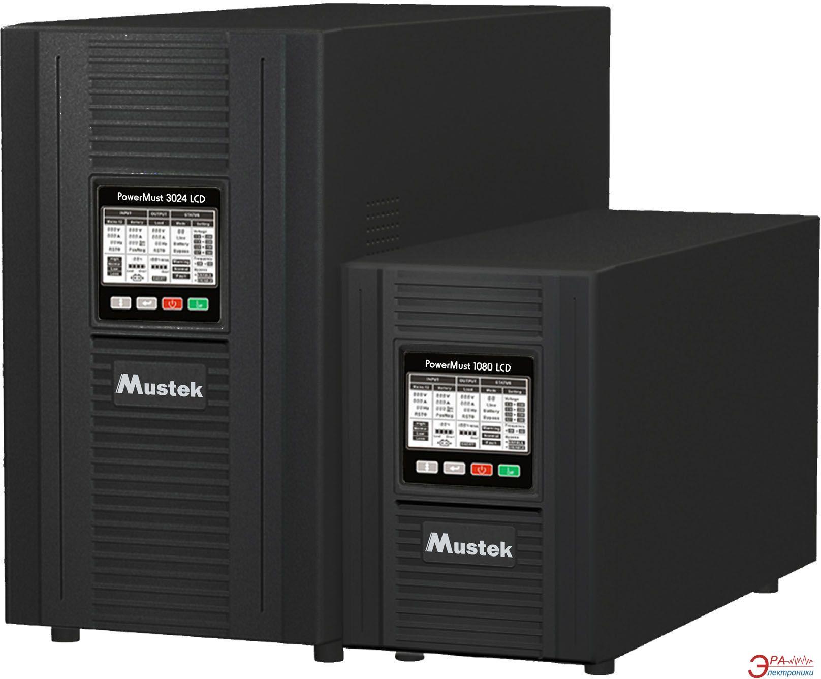ИБП Mustek PowerMust 3024 Online LCD (98-ONC-X3024)