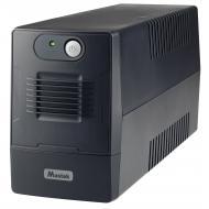 ИБП Mustek PowerMust 600 EG Line Int. 650VA/360W 2xSchuko (600-LED-LIG-T10)