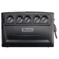 ИБП Mustek PowerMust 600 Plus Line Int. (600-LED-LI-R10)