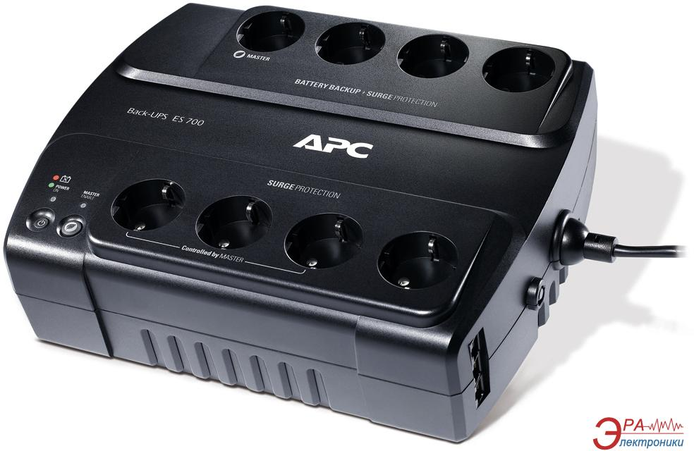 ИБП APC Back-UPS ES 700VA (BE700G-RS)