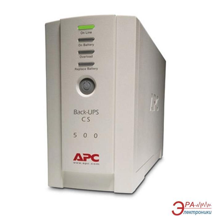 ИБП APC Back-UPS CS 500VA (BK500EI)