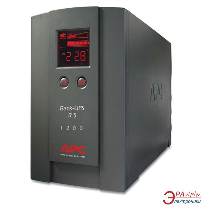 ИБП APC Back-UPS RS 1200VA, LCD (BR1200LCDI)