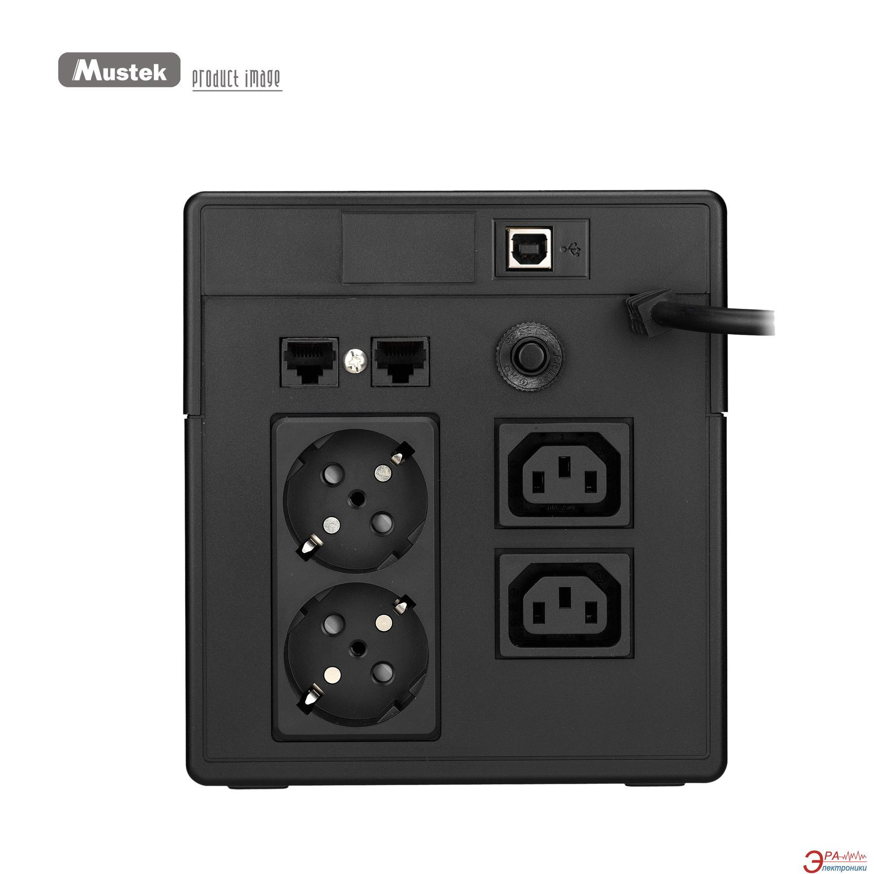 ИБП Mustek PowerMust 1060 (98-UPS-VL106)