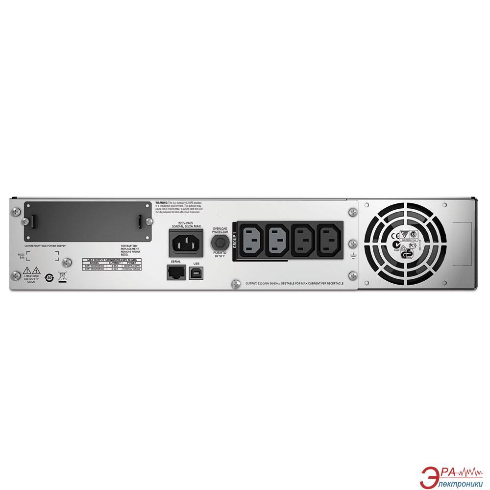ИБП APC Smart-UPS 1000VA LCD RM 2U (SMT1000RMI2U)