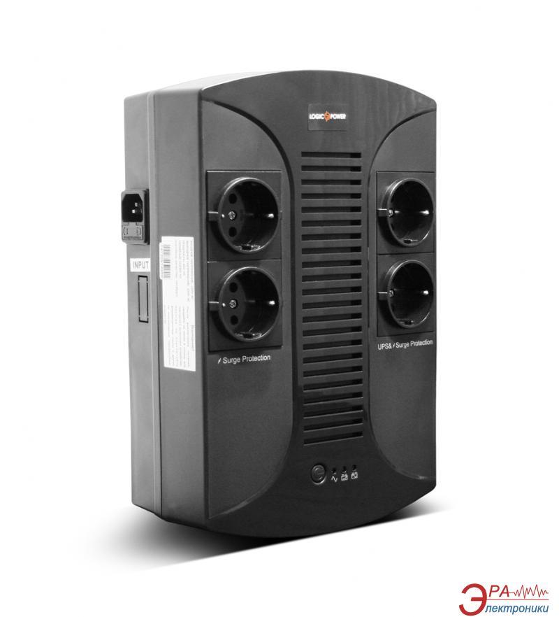 ИБП LogicPower 850VA-PS plastic case