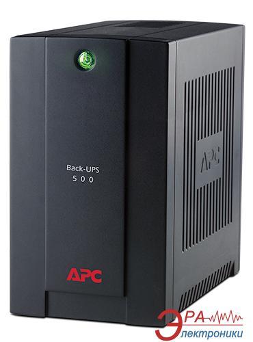 ИБП APC Back-UPS 500VA (BC500-RS)