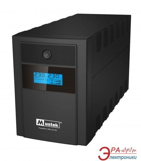 ИБП Mustek Power Must 1260 LCD (98-LIC-C1060)