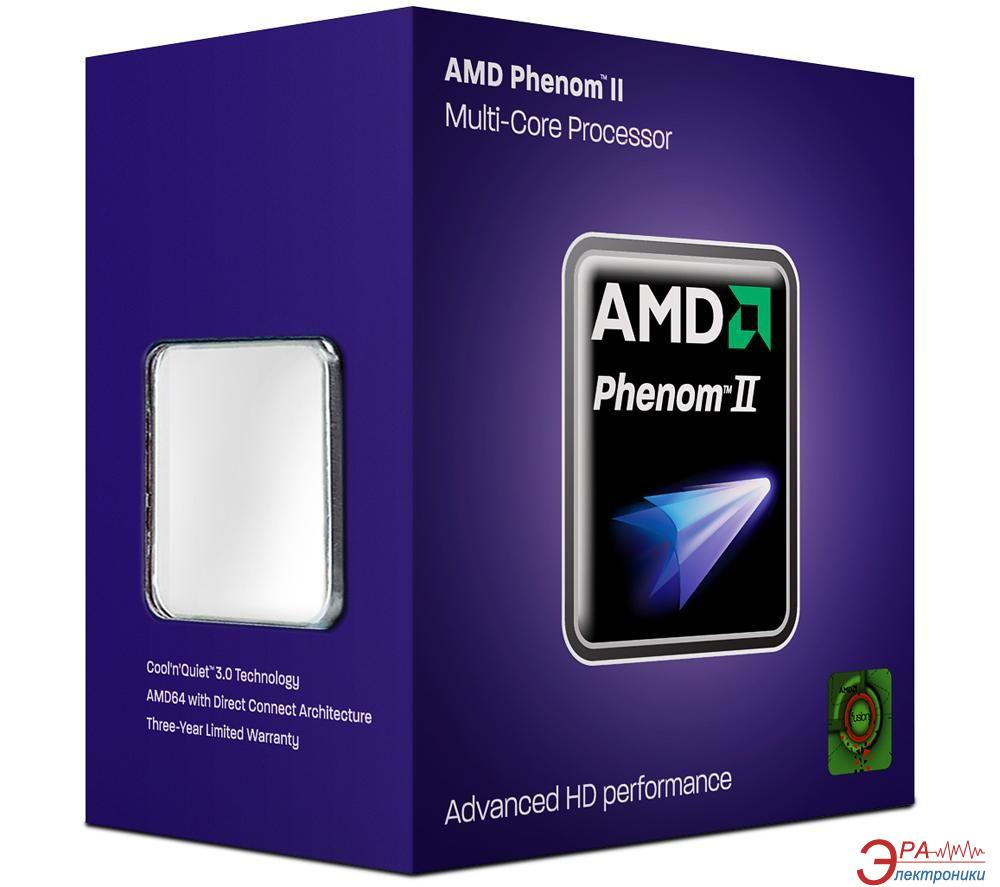 Процессор AMD Phenom II X4 840 (HDX840WFGMBOX) AM3 Box